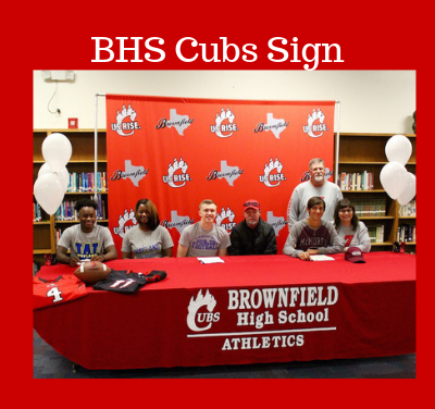BHS Cubs Sign With Colleges