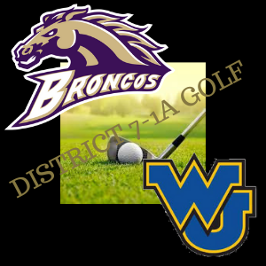 Meadow & Wellman-Union On Top in District 7-1A Golf Tourney