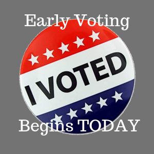 Early Voting Begins Today For Municipal/Local Elections, What's Up For Grabs?