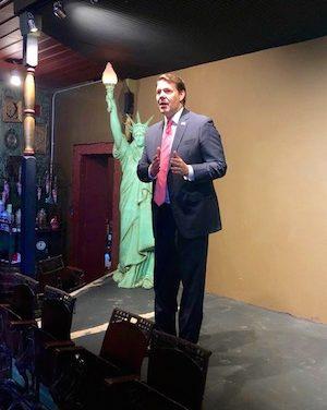 US Congressman Jodie Arrington Stops in Brownfield, Talks Rural Health Care, Mueller Report & Capitalism