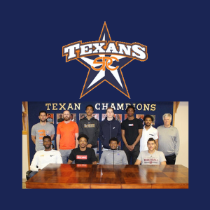 Eight Texan basketball players sign with Div. I schools